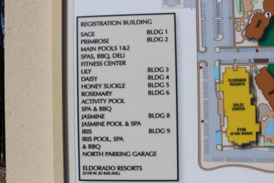 Grandview Building Names And Numbers Picture Of The
