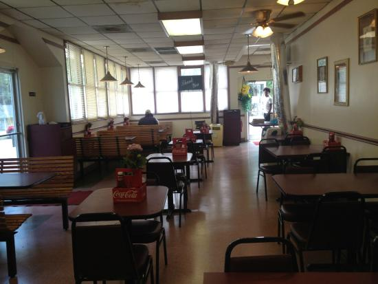 Seating Area After Lunch Rush Picture Of Home Plate Restaurant