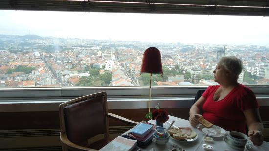 Restaurante, vista 360 graus - Foto de Hotel Miradouro