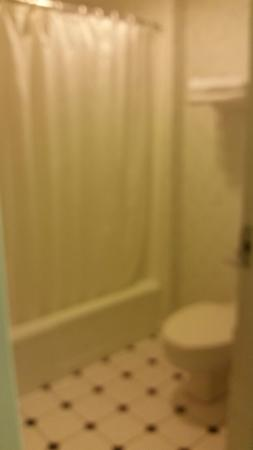 Hyannis Inn Motel: Bathroom