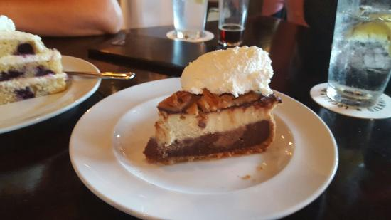 delicious pizza and homemade desserts picture of the