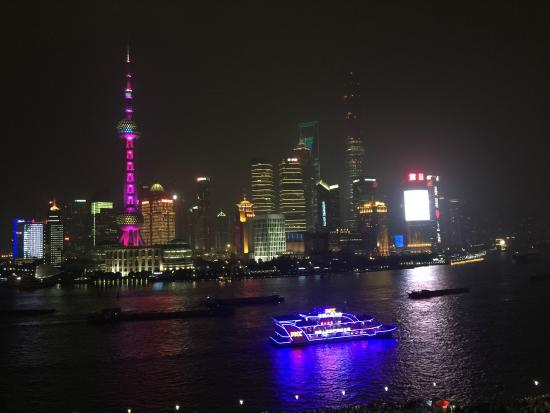 Fairmont Peace Hotel: View from Fairmont Shanghai rooftop bar