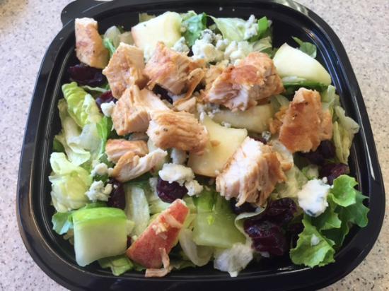 Apple Pecan Chicken Salad Half Order Picture Of Wendy S