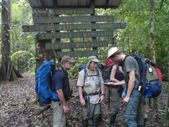 Darien Province, Panama: Amigos de Estados Unidos,en Limite del Parque N,Darien