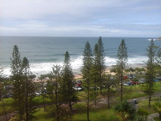 Pacific Beach Resort: view from Unit 32