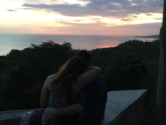 Tola, นิการากัว: Romantic Sunset at our house