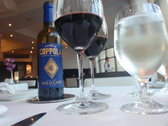 LIV Restaurant : Perfect wine - recommended for us by our server Kaitlin