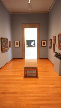 Johnson Museum of Art : Vista interna do museu