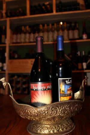 Riverview Mansion Hotel: Local Wines