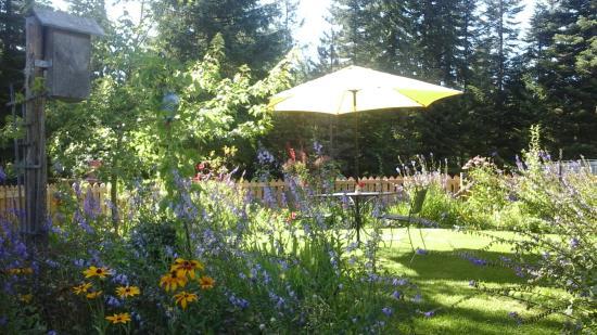 Clark Fork, Айдахо: Breakfast Garden