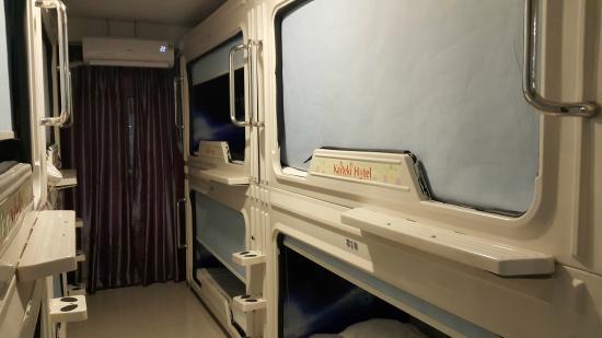 Tempat Tidur Kapsul Picture Of Hong Kong Kaiteki Hotel