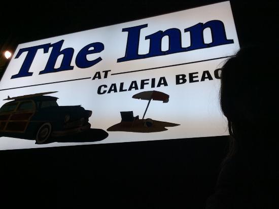 Inn at Calafia Beach : Surpresa boa! Quarto super aconchegante. Ótimo custo beneficio!