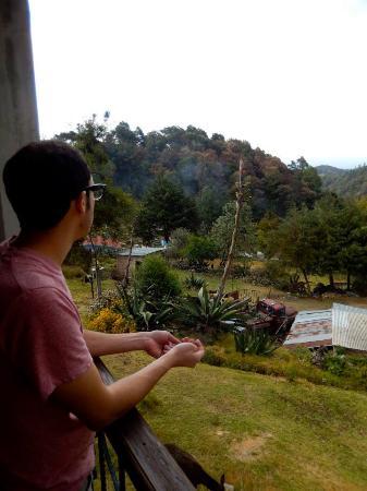 Mineral del Chico, Mexico: La vista hermosa desde nuestro balcón