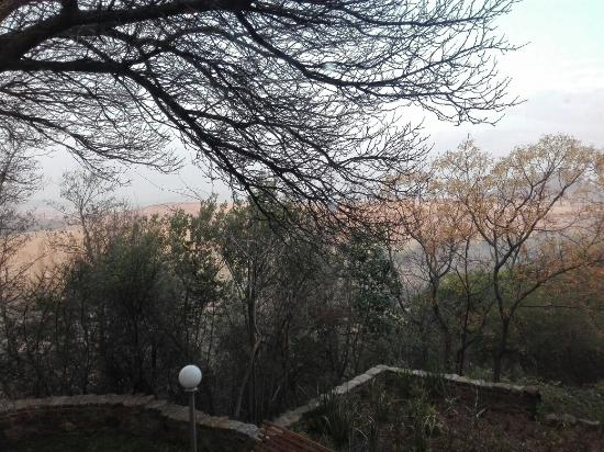 AVANI Maseru Hotel: Good breakfast view and room breakfast is good too