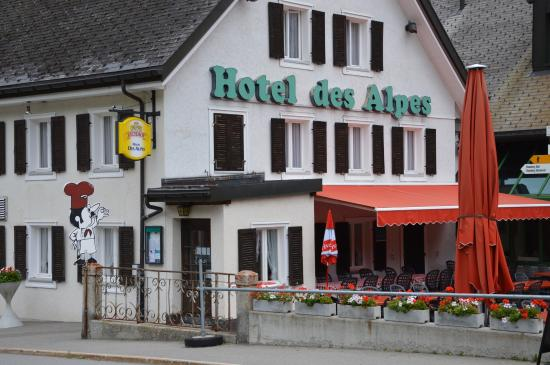 Hotel Restaurant des Alpes