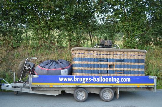 Bruges Ballooning: Matériel