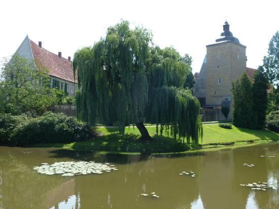 Steinfurt, Jerman: Here you can see the moat