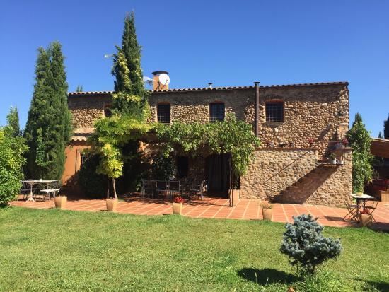 Crespià, España: Rear view
