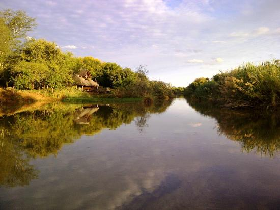 Mogalakwena River Lodge: View from the Mogalakwena River