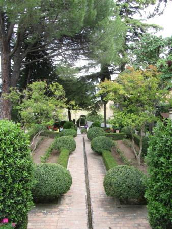 La Casa Del Rey Moro: парк