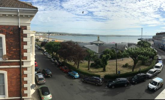 Harbour House: view from room 9