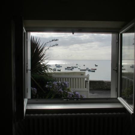 Ile Molene, Frankrike: Vue de la chambre
