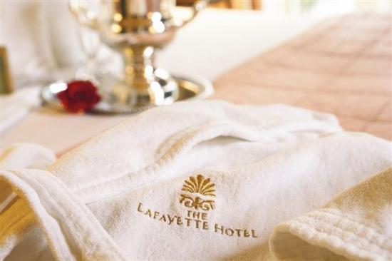 The Lafayette Hotel : Bathrobe