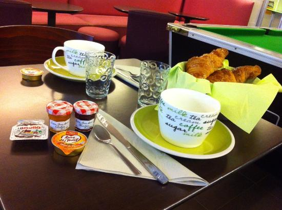 Le Thy : Petit déjeuner