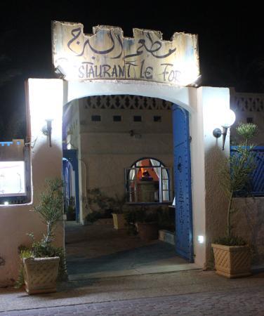 Restaurant Le Fort: L'entrée principale
