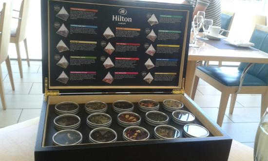 tea display picture of razzi restaurant cardiff tripadvisor
