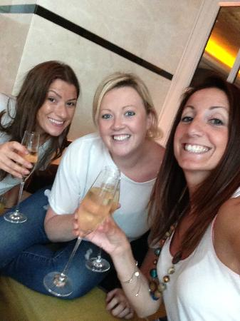 Free Flowing Champagne Afternoon Tea