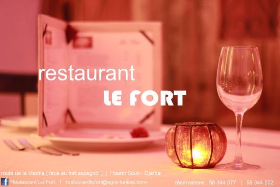 Restaurant Le Fort: informations sur le restaurant