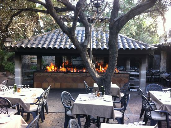 Sa Farinera: restaurantes stolthed, grillen under optændning