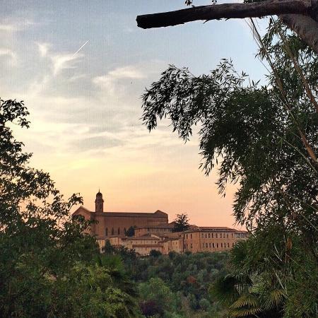 Palazzo Bruchi: View from B&B