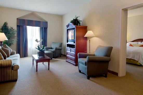 King jr suite living area fotograf a de hilton garden inn - Hilton garden inn houston nw willowbrook ...