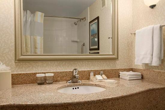 Hilton Garden Inn Islip/MacArthur Airport: Guest Room Bathroom