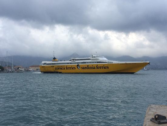 Corsica Sardinia Elba Ferries-billede