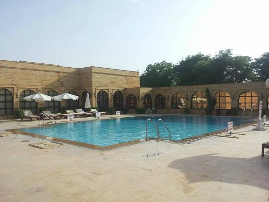 Swimming Pool Picture Of Gorbandh Palace Jaisalmer Tripadvisor
