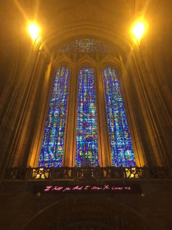 Liverpool Cathedral: I use to be brought here as a child and now I bring my own children, bringing back memories and