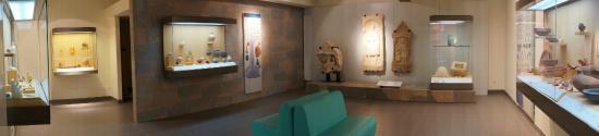 Civaux, Frankrike: vue de la salle gallo-romaine