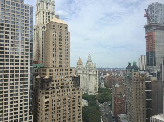 Millennium Hilton New York Downtown: View from our room on 37th floor