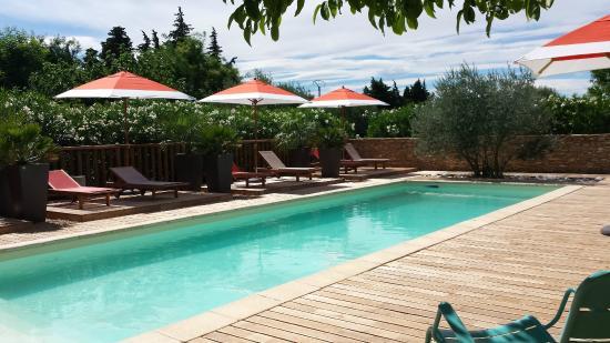 Flaux, France: Pool