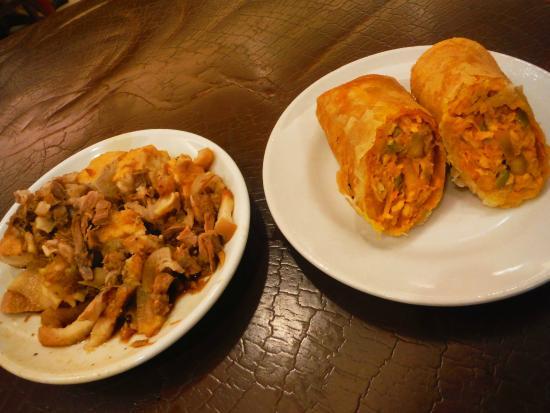 Davao Dencia's Restaurant: Tokwa't Baboy at Lumpia de Frito
