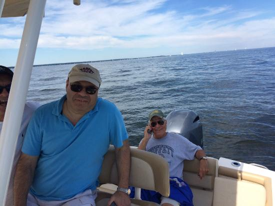 Fun on the Boat with Friends