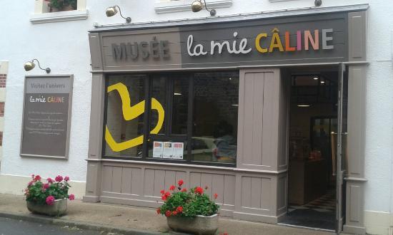 Sallertaine, Prancis: Musée du pain de la Mie Câline