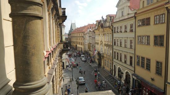 Malostranska Residence: View from the balcony