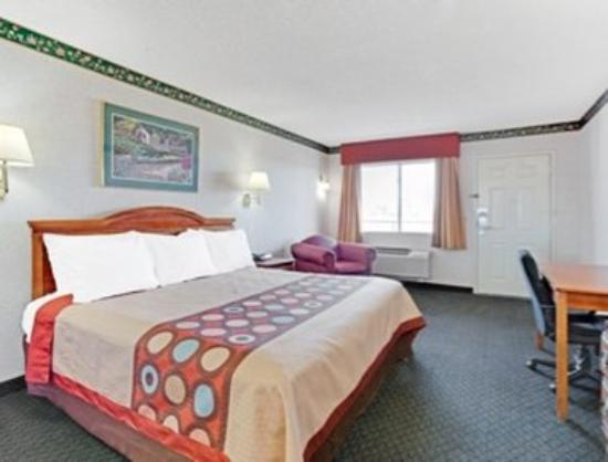 Hampshire, IL: One Bed Guest Room