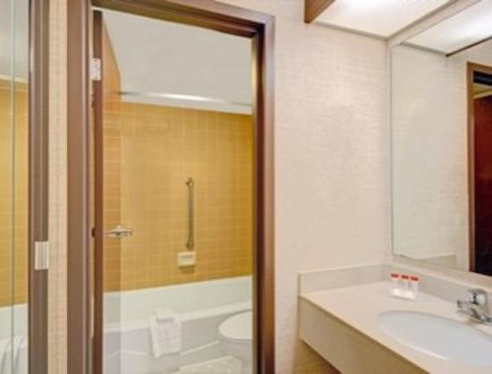 Ramada Austin Central: Bathroom