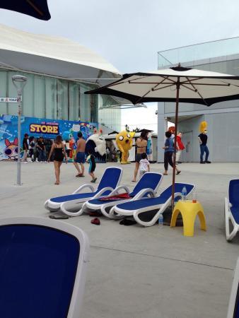 Jomtien Beach, Tailandia: 8月15日  行きました 入場料が高い 今回タイの彼女と行きました  子供が遊ぶ所です