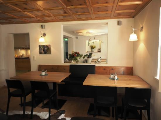 Hotel Lün: Frühstücksraum